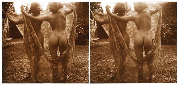 Žuls Rišārs. Divas kailas sievietes no muguras. 19. gs beigas, 20. gs sākums