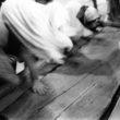 Linda Dorigo. Jeruzāleme, Svētās kapenes, Janvāris 2013. Uz Jeruzālemes svētajām kapenēm plūst nebeidzama svētceļnieku un tūristu straume. Kapenes ir 14. meditācijas punkts Krusta ceļā, kurā katru piektdienu pa pilsētu iet franciskāņu mūki.