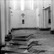 Linda Dorigo. Irāna, Tabriza, Jūlijs 2011. Svētās Marijas baznīca tika aizvērta 2009. gadā. Teherānas valdība ir oficiāli apsolījusi to atjaunot, bet, tā kā kristiešu kopiena ir ļoti maza, renovācija ir apstājusies.