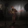 Mikele Palaci. Mongolija, Gobi, Dalanzadgada, 2013. Slavens mongoliešu dziedātājs uzņēmuma Mobicom organizētajā ballītē.