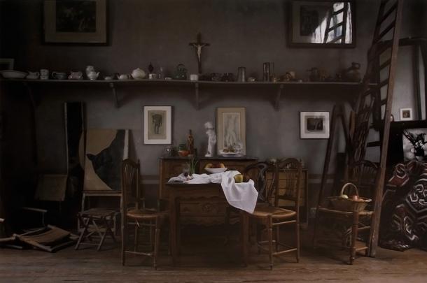 Džoels Meierovics, Sezana studija, Galds, 2011, Howard Greenberg Gallery