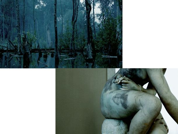 "Estere Teihmane. Kadrs no videodarba ""Meklējot zibeni"", 2011"