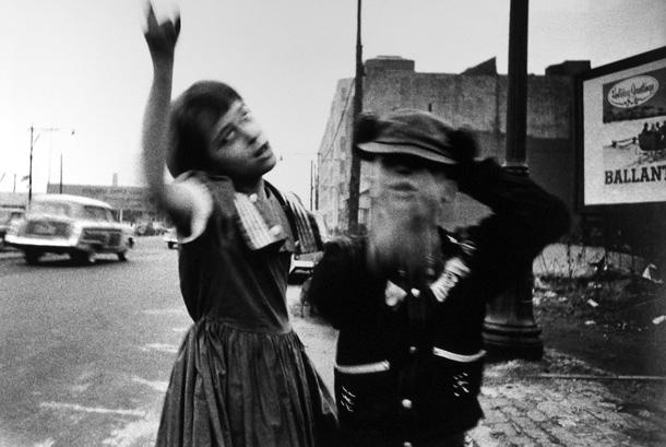 Viljams Kleins. Deja Bruklinā, Ņujorka, 1955