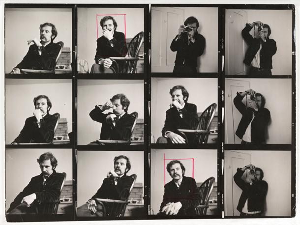 A. Eliss (A. Ellis). Tonija Reja-Džonsa portretu kontaktkopiju izdruka, 1970. © SSPL/Getty Images