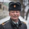 """Vasīlijs Vovčenko, Iļjinci, 50 gadi, Ukrainas Reģistrēto Kazaku štāba veidošanas priekšnieks Vinnicas reģionā. """"Kazaki vienmēr ir bijuši kopā ar tautu. Mums ir jāaizsargā sava tauta. Mēs devām zvērestu nevis kādiem konkrētiem cilvēkiem, bet visai Ukrainas tautai. Būt šeit – ir mūsu pienākums."""" Foto - Aleksejs Furmans"""