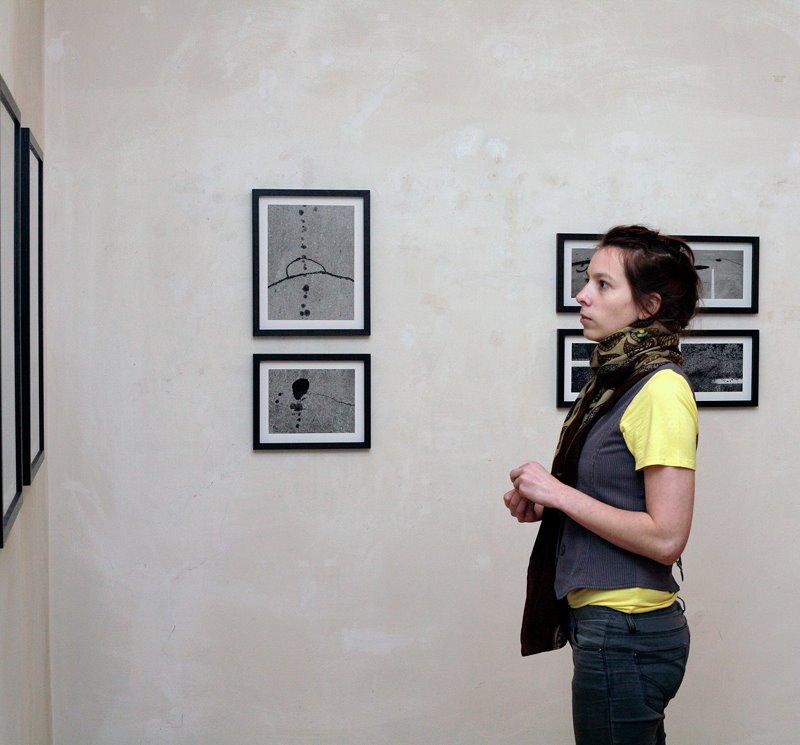 Skats no izstādes Fotomuzejā. Foto - Maira Dudareva