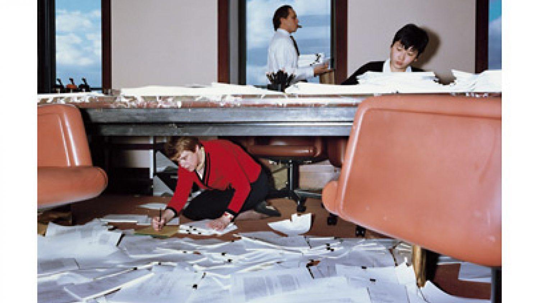 "Larss Tunbjorks. Advokātu birojs, Ņujorka, 1997. No sērijas ""Birojs"""