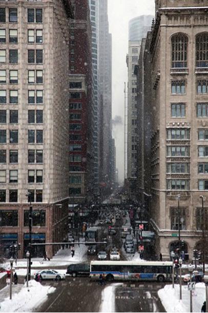 Ziema Čikāgā. Foto - no personīgā arhīva