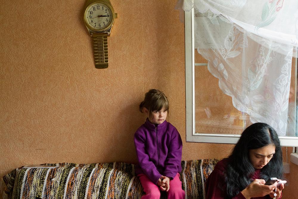 """Annika Hāsa. No sērijas """"Mēs, romi"""""""