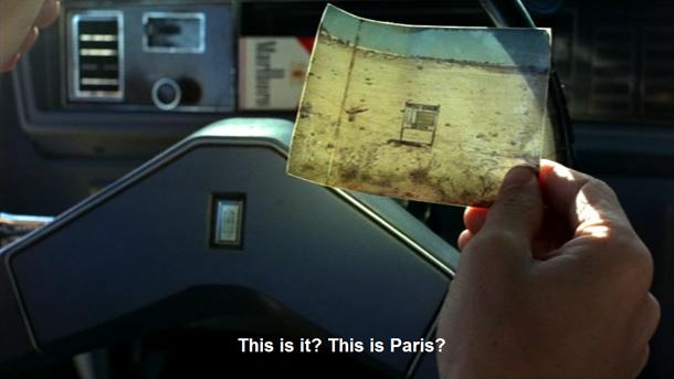 """Kadrs no filmas """"Parīze, Teksasa"""""""