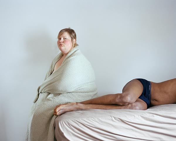 """Džena Deivisa. Stīvs un es, 2006. No sērijas """"Pašportreti"""""""