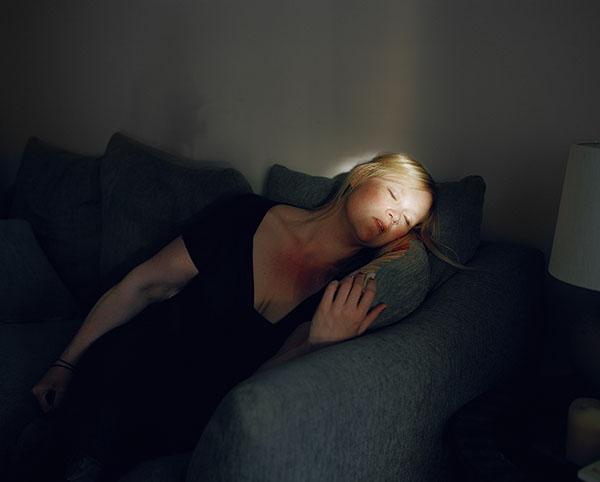 """Džena Deivisa. Bez nosaukuma nr. 55, 2013. No sērijas """"Pašportreti"""""""