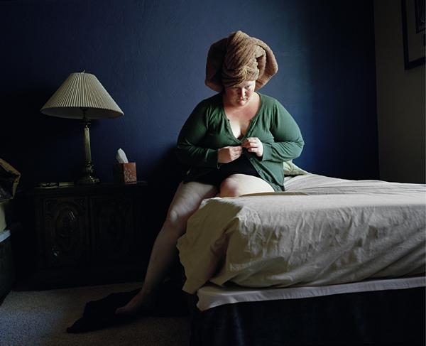 """Džena Deivisa. Bez nosaukuma nr. 39, 2010. No sērijas """"Pašportreti"""""""