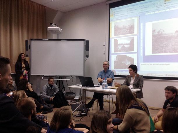 Mārtina Pāra lekcija Minskā