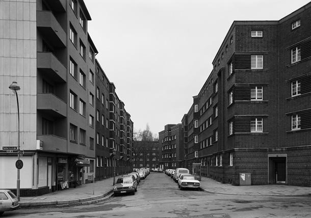 Tomass Struts. Planetenstrasse, Diseldorfa, 1979