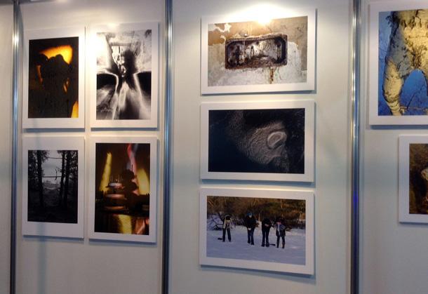Fotoizstāde, ko Riga Photo Show laikā bija saorganizējusi Leica