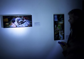 Skats no Māra Grunska izstādes Fotomuzejā. Foto - Arno Marnics