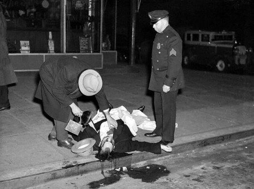 Vīdžī. Ņujorka, 1939