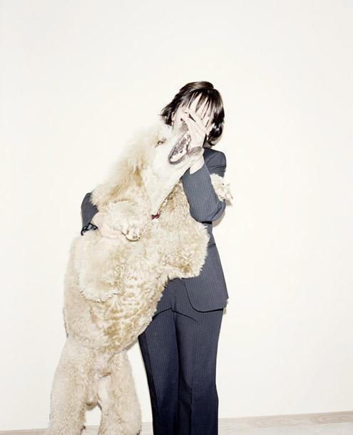 """Rafals Milahs. Arri, daudzkārtējs suņu skaistumkonkursu uzvarētājs. No grāmatas """"Uzvarētāji"""""""