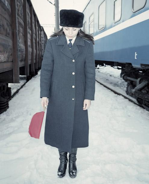 """Rafals Milahs. Marina, Miss Baltkrievijas dzelzsceļš Brestas apgabalā. No grāmatas """"Uzvarētāji"""""""