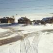 """Marija Gruzdeva. Tamitsas ciemats, Oņegas rajons Arhangeļskas apgabalā. No sērijas """"Krievijas robežas"""""""