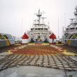"""Marija Gruzdeva. Krasta apsardzes kuģis, Piejūras novads. No sērijas """"Krievijas robežas"""""""