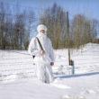"""Marija Gruzdeva. Zemessargs, Krievija – Norvēģija. No sērijas """"Krievijas robežas"""""""