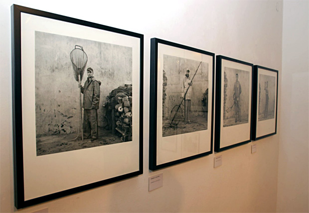 Skats no Lukas Berti izstādes Fotomuzejā