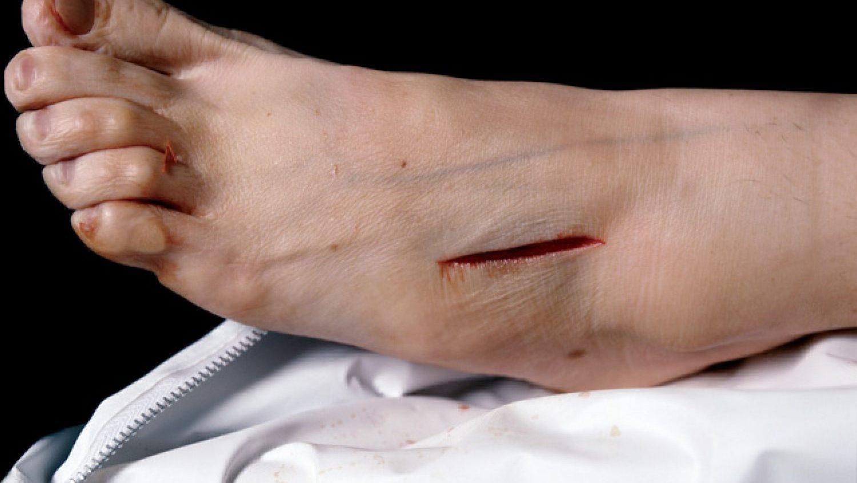 """Andress Serano. Pašnāvība ar žurku indi. No sērijas """"Morgs"""", 1992"""