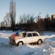 """Kristofers Nans. Doņecka, 2014. gada janvāris. No sērijas """"Kaulu rinda"""""""