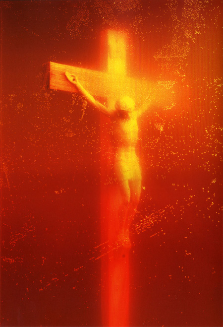 Andress Serano. Piss Christ, 1987