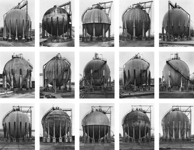 Bernds un Hilla Beheri. Gāzes tvertnes, 1983-92