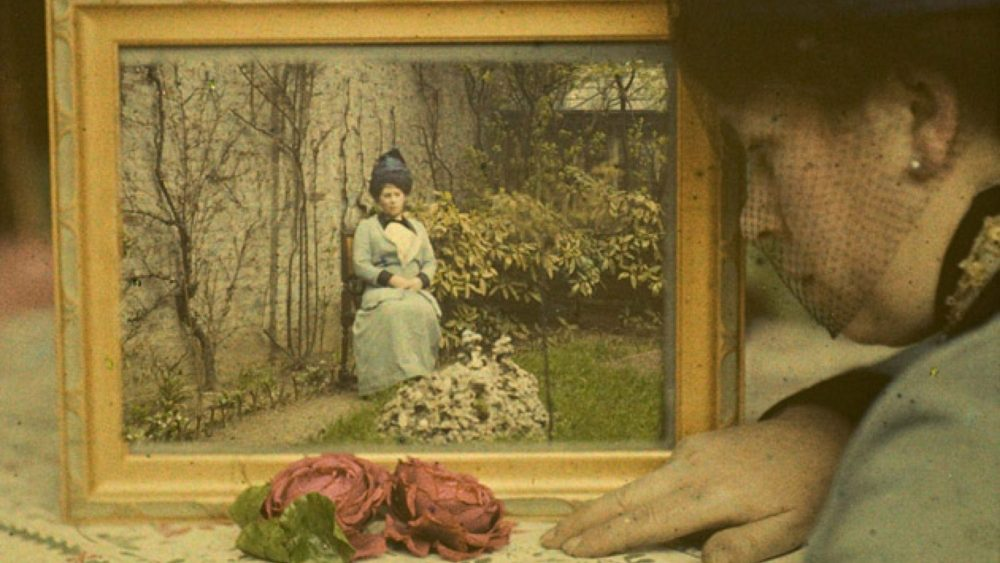 Pols Sanū. Korbē kundzes dubultportrets. Ap 1912