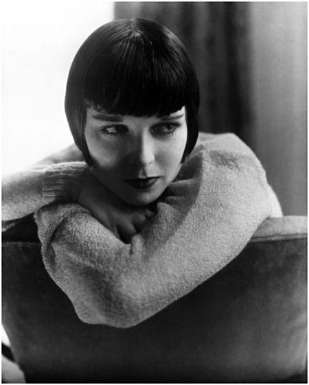 Edvards Steihens. Aktrise Luīze Bruksa, 1928