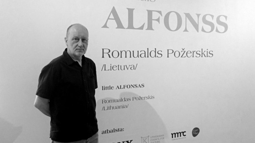 Romualds Požerskis. Foto - Arnis Balčus