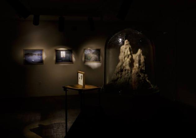 Skats no Andreja Strokina izstādes Fotomuzejā