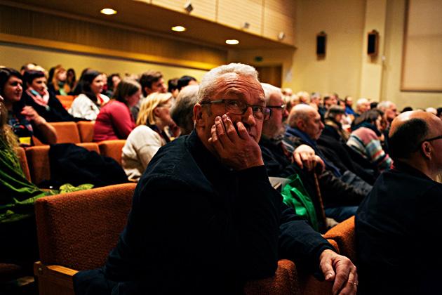 """Skats no semināra """"Egona Spura ceļš"""". Priekšplānā - Vitauts Mihalovskis. Foto - Arno Marnics"""