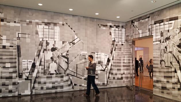 """Katarīnas Gensleres darbs """"Bauhaus kāpnes"""""""