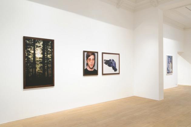 Skats no Roja Etridža izstādes Rivas galerijā Briselē