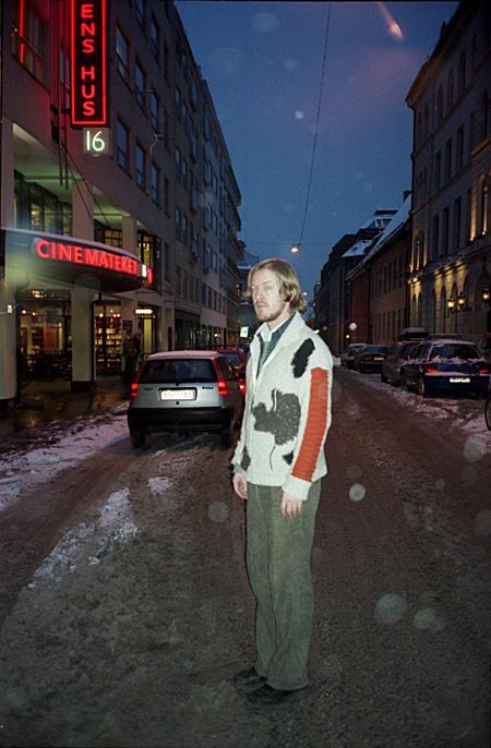 Torbjerns Redlands Oslo 2003. gadā. Foto - Arnis Balčus