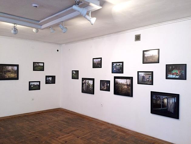 Skats no Jāņa Katlapa izstādes Fotomuzejā