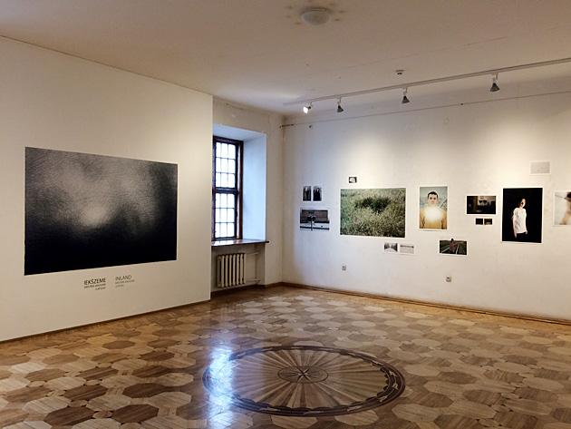 Skats no Kristīnes Madjares izstādes Fotomuzejā