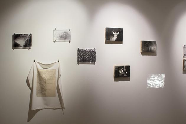 Skats no Ievas Balodes izstādes LMC Ofisa galerijā. Foto - Kristīne Madjare