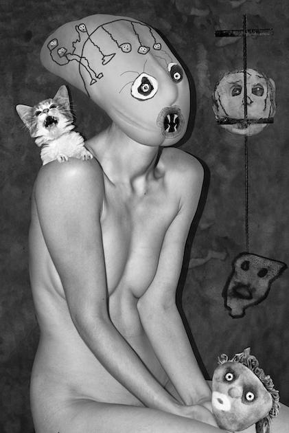 Foto - Rodžers Balens un Asgers Karlsens. <em>Scared Cat</em>