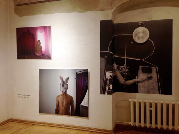 Aijas Bley darbi Fotomuzejā