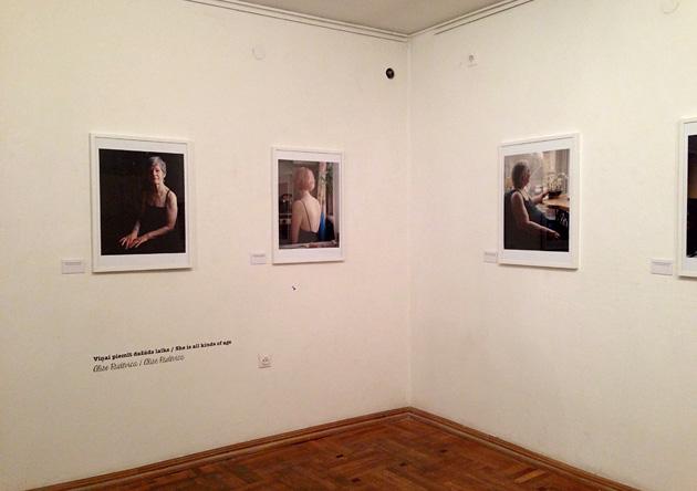 Alises Rudēvicas darbi Fotomuzejā