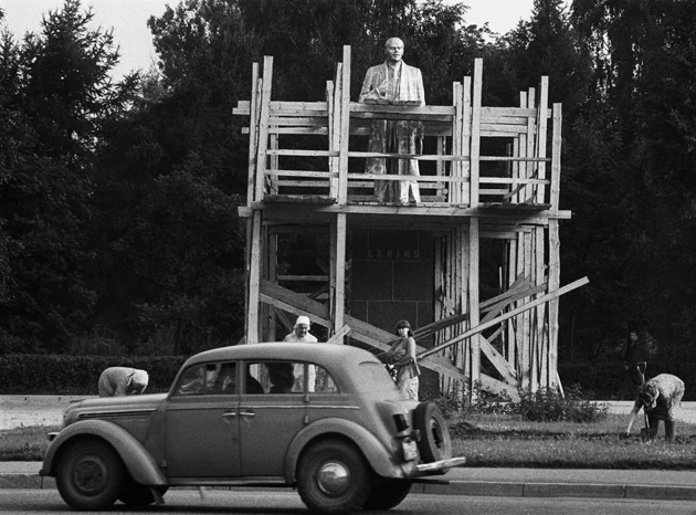 Pēdējā restaurācija, 1986. gada jūnijs, Valmiera.  Foto - Uldis Briedis