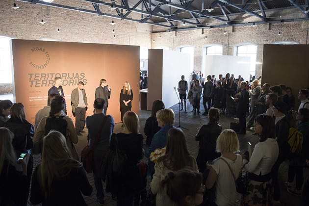 Rīgas Fotomēneša atklāšana Dzelzceļa muzejā. Foto - Kristīne Madjare