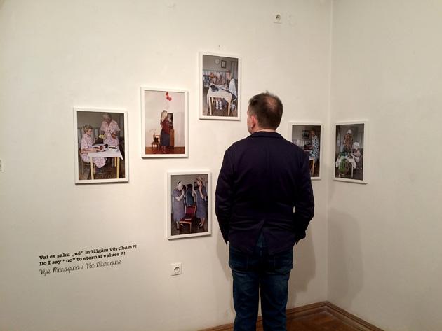 Vijas Muraginas darbi Fotomuzejā
