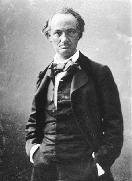 Felikss Nadārs. Šarla Bodlēra portrets, 1855